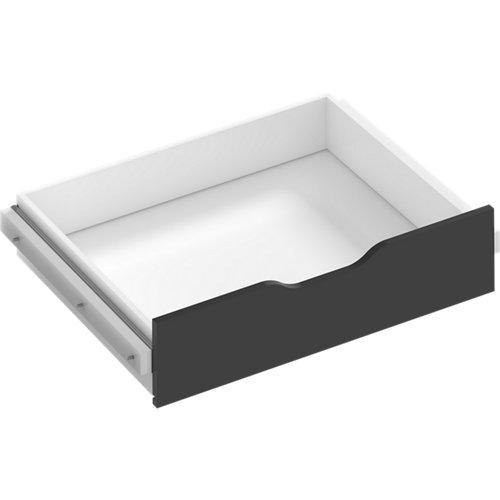 Kit cajón interior para módulo de armario spaceo home gris 80x16x60 cm