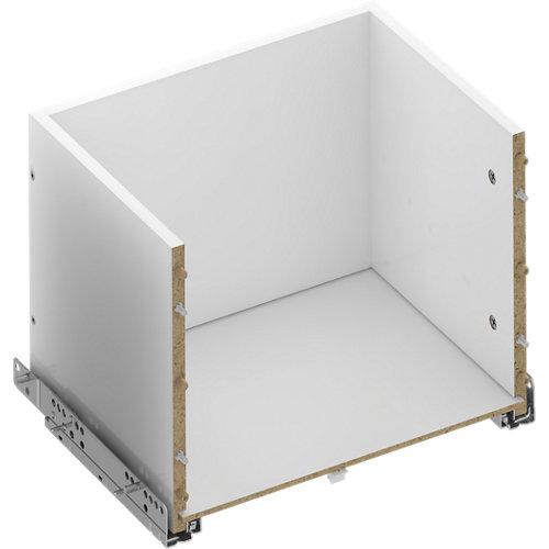Kit cajón exterior para módulo de armario spaceo home 40x40x30cm