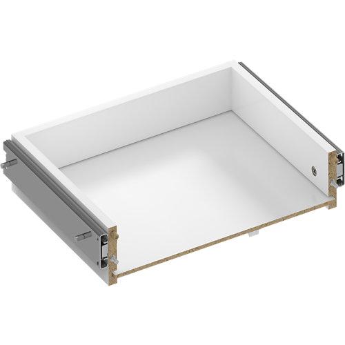 Kit cajón exterior para módulo de armario spaceo home 40x10x30cm