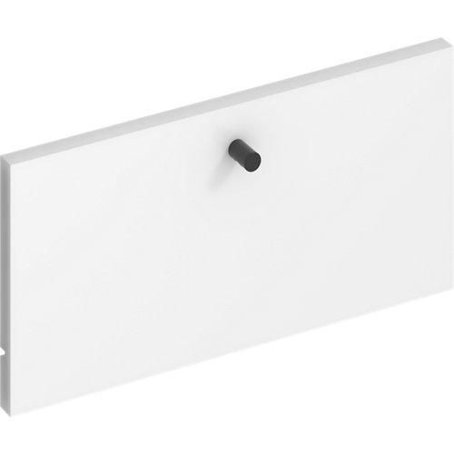 Frente para cajon exterior de módulo de armario spaceo home blanco 40x20x1.8cm