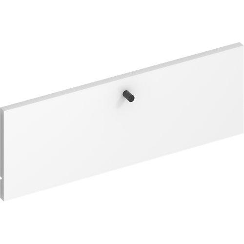 Frente para cajon exterior de módulo de armario spaceo home blanco 60x20x1.8cm