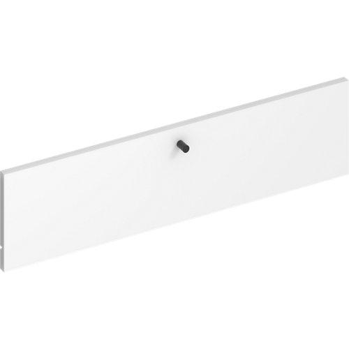 Frente para cajon exterior de módulo de armario spaceo home blanco 80x20x1.8cm