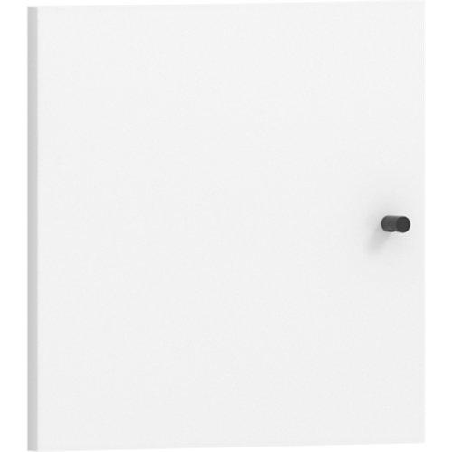 Puerta abatible para módulo de armario spaceo home blanca 40x40cm