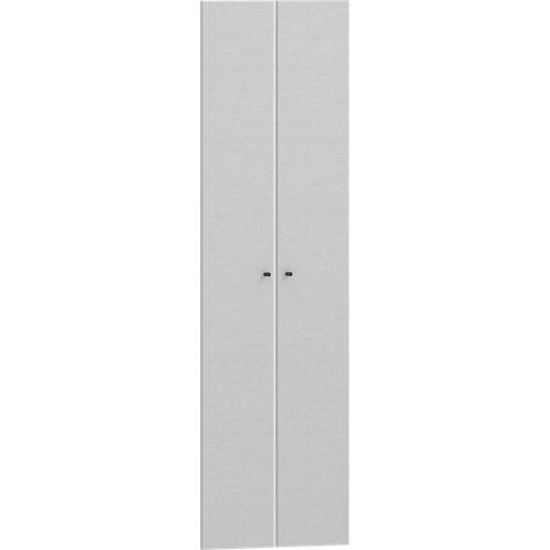 Pack 2 puertas abatibles para módulo spaceo home textil 60(2x30cm)x200cm