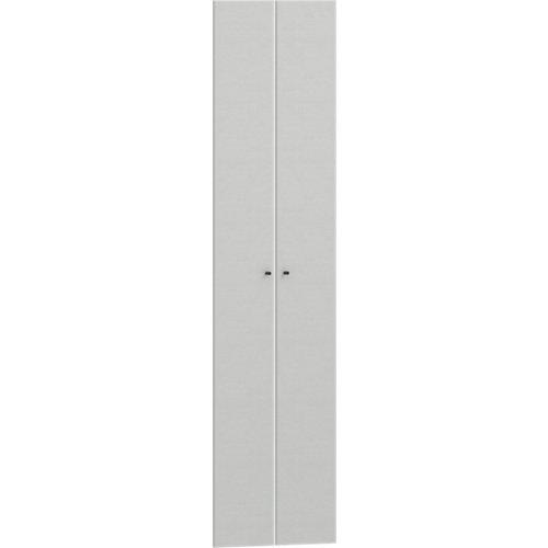 Pack 2 puertas abatibles para módulo spaceo home textil 60(2x30cm)x240cm