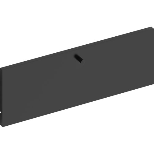 Frente para cajon exterior de módulo de armario spaceo home gris 60x20x1.8cm