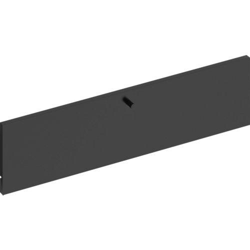 Frente para cajon exterior de módulo de armario spaceo home gris 80x20x1.8cm