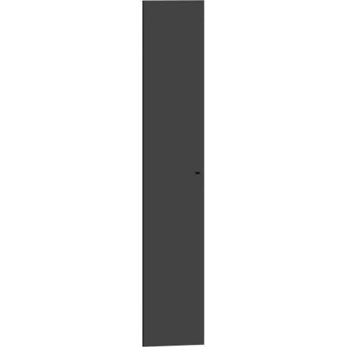 Puerta abatible para módulo de armario spaceo home gris 40x200cm