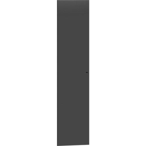 Puerta abatible para módulo de armario spaceo home gris 60x240cm