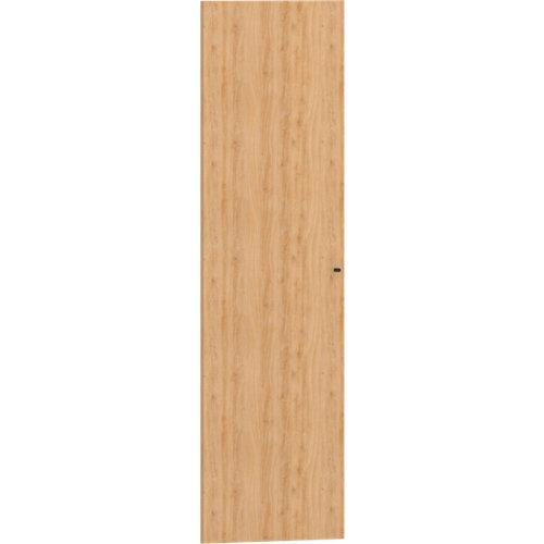 Puerta abatible par módulo de armario spaceo home roble 60x200cm