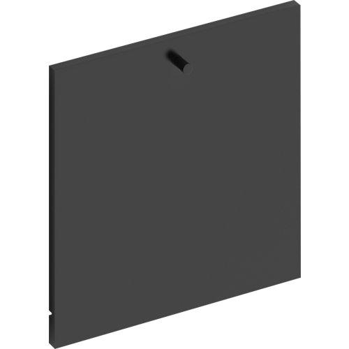 Frente para cajon exterior de módulo de armario spaceo home gris 40x40x1.8cm