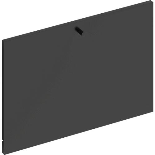 Frente para cajon exterior de módulo de armario spaceo home gris 60x40x1.8cm