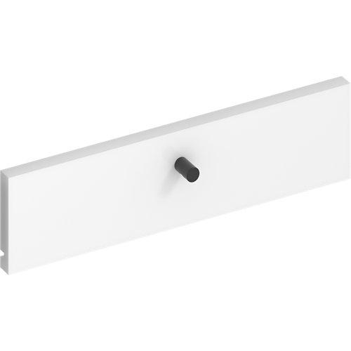 Frente para cajon exterior de módulo de armario spaceo home blanco 40x10x1.8cm