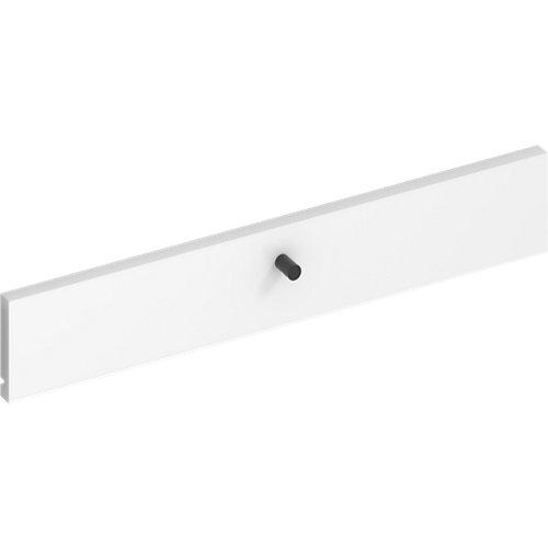 Frente para cajon exterior de módulo de armario spaceo home blanco 60x10x1.8cm