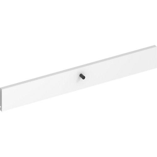 Frente para cajon exterior de módulo de armario spaceo home blanco 80x10x1.8cm