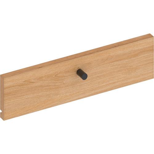 Frente para cajon exterior de módulo de armario spaceo home roble 40x10x1.8cm