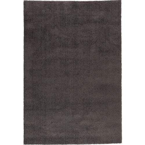 Alfombra gris microfibra blizz antracita 120 x 170cm