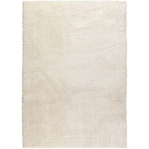 Alfombra blanca microfibra blizz 79800 120 x 170cm