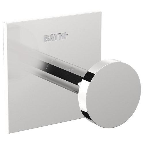 Percha de baño stick cromo brillo