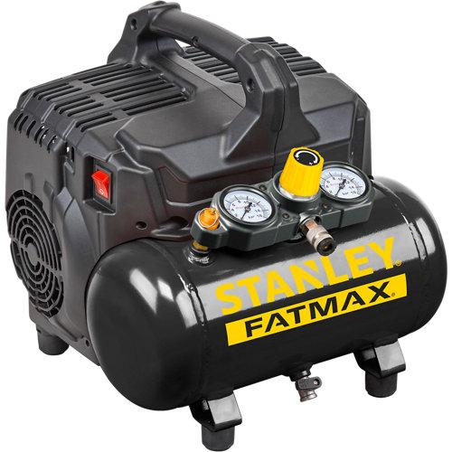 Compresor silencioso dst stanley fatmax 101/8 6l de depósito