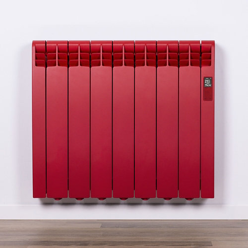Radiador eficiente rointe serie d flame red 7 elm. 770w wifi
