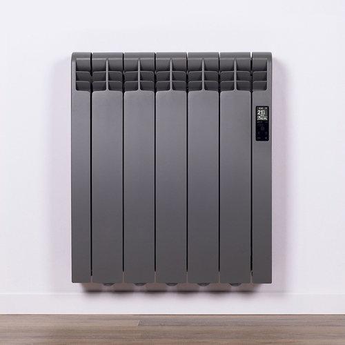 Radiador eficiente rointe serie d tar. grey 5 elm. 550w wifi