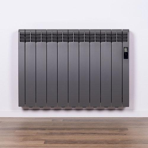 Radiador eficiente rointe serie d tar. grey 9 elm. 990w wifi