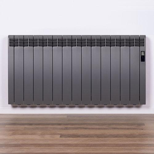 Radiador eficiente rointe serie d tar. grey 13elm 1430w wifi