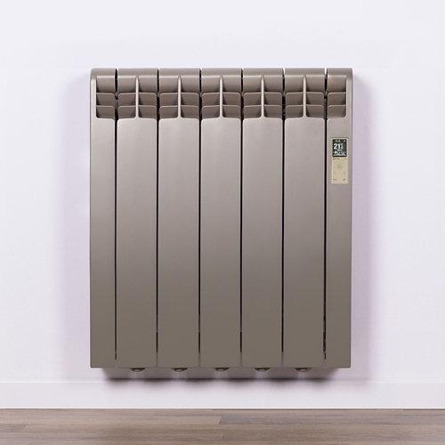 Radiador eficiente rointe serie d p. beige 5 elm. 550w wifi
