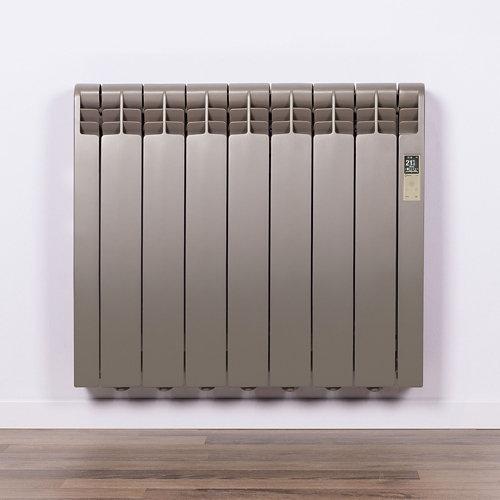 Radiador eficiente rointe serie d p. beige 7 elm. 770w wifi