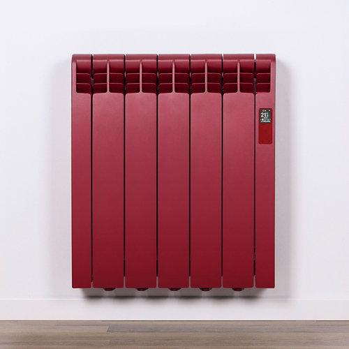 Radiador eficiente rointe serie d p. ruby red 5elm 550w wifi