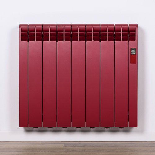 Radiador eficiente rointe serie d p. ruby red 7elm 770w wifi