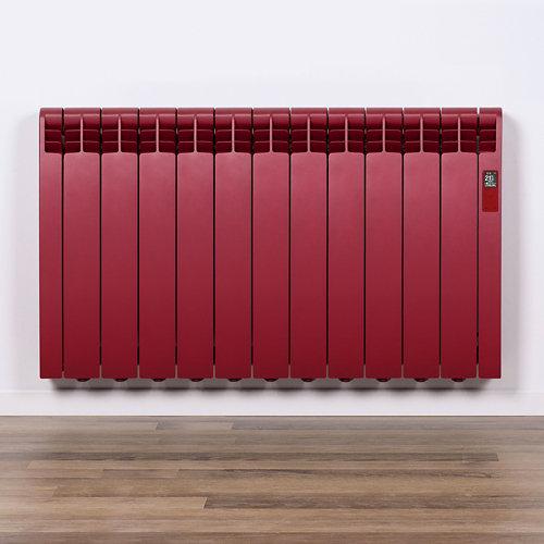 Radiador eficiente rointe serie d p. ruby red 9elm 990w wifi