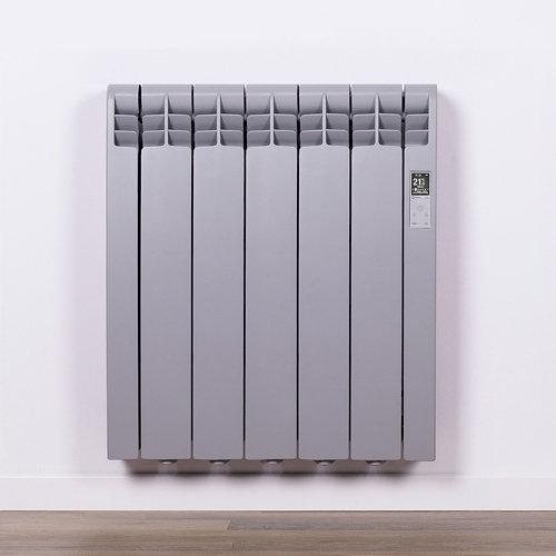Radiador eficiente rointe serie d tr. grey 5 elm. 550w wifi