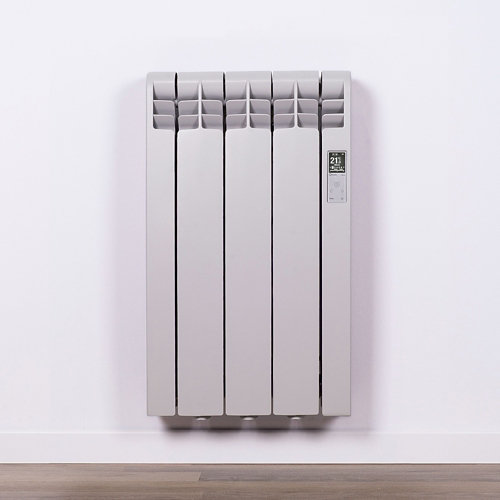 Radiador eficiente rointe serie d agate grey 3 elm 330w wifi