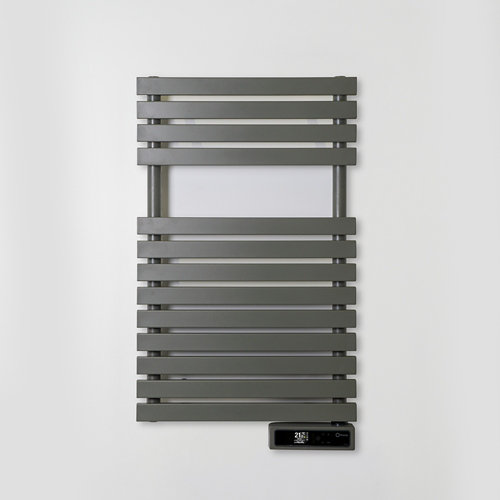 Radiador toallero eléctrico rointe serie d t grey 300w wifi