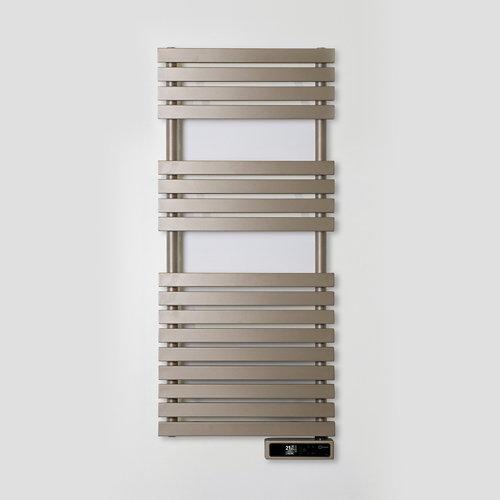 Radiador toallero eléctrico rointe serie d p beige 450w wifi