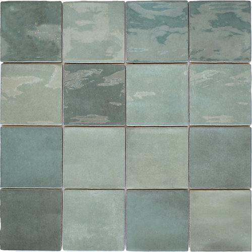 Revestimiento pared-argila-verde-10x10