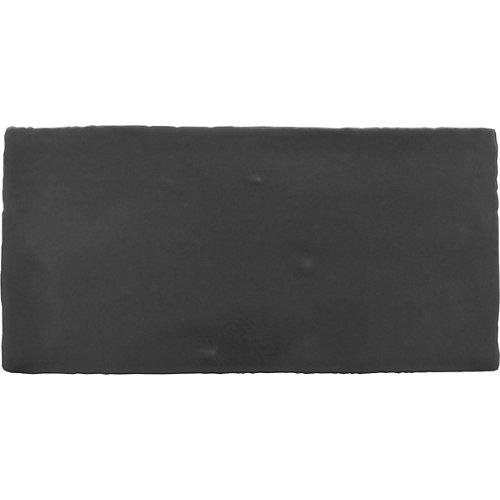 Revestimiento pared-columbus-negro matt-7,5x15