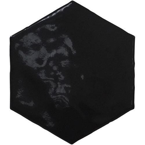 Revestimiento pared-hexalife-negro-16x16