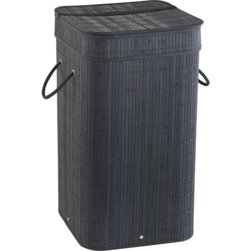 Cesto de ropa tatami negro 68l