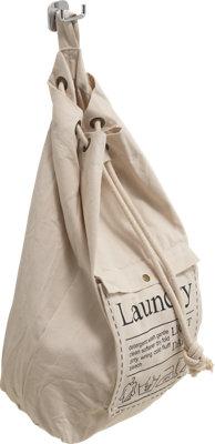 Cesto de ropa Baggy beige 30L