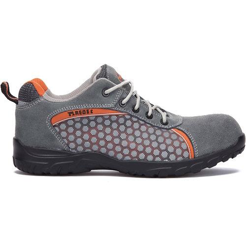 Zapato seguridad paredes, rubidio gris piel serraje talla 38