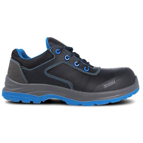 Zapato seguridad paredes, apolo negro piel, s3 talla 38