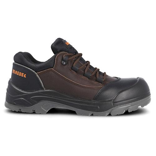Zapato seguridad paredes, nail piel marrón, s3 src talla 38