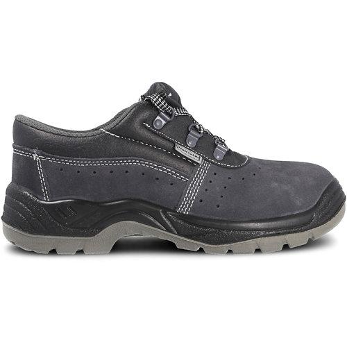 Zapato seguridad paredes, zp1002 serraje gris, s1p talla 45