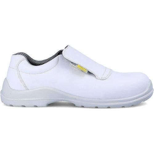 Zapato seguridad paredes, arzak microfibra blanco, talla 44