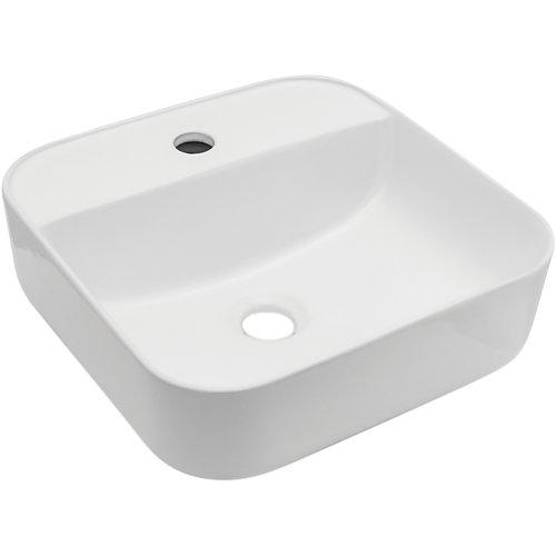 Lavabo sagunto blanco 39x16.5x39 cm