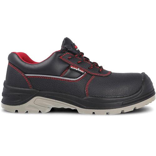 Zapato seguridad paredes, óptimal piel negro s3 src talla 40