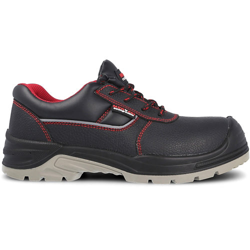 Zapato seguridad paredes, óptimal piel negro s3 src talla 43